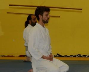 Méditation sous le jo