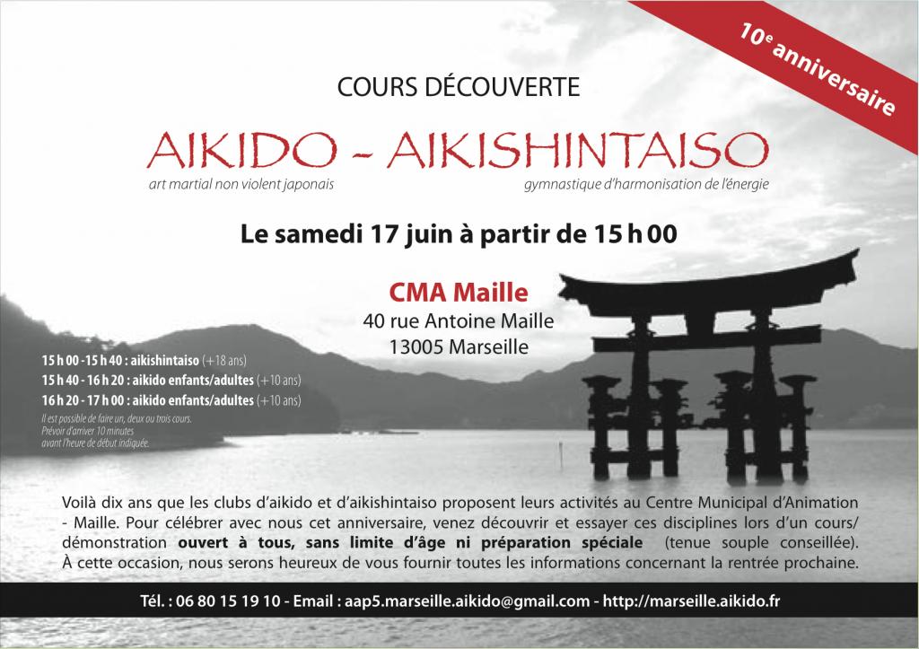 10 anniversaire Aikido Aikishintaiso 2017